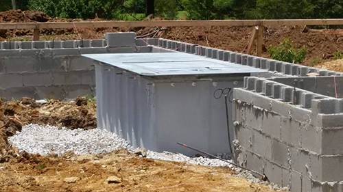 New home construction community storm shelters for Porch storm shelter