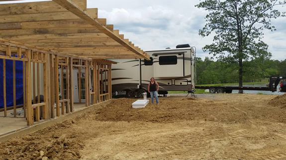 New Home Construction & Community Storm Shelters
