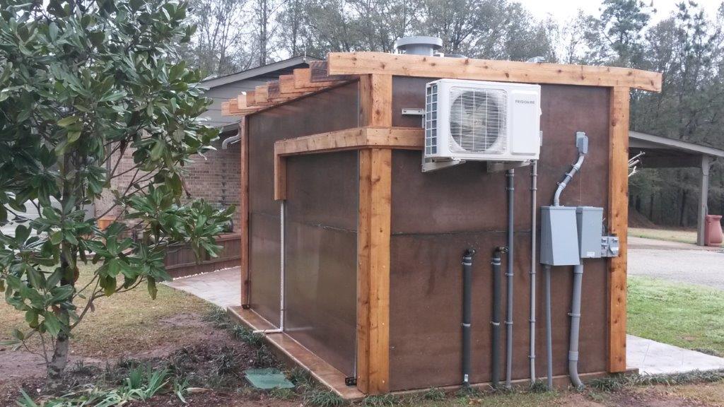 concrete community storm shelter